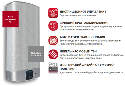 ariston wi-fi