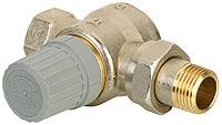 Клапан RTD-G Danfoss для однотрубных систем отопления