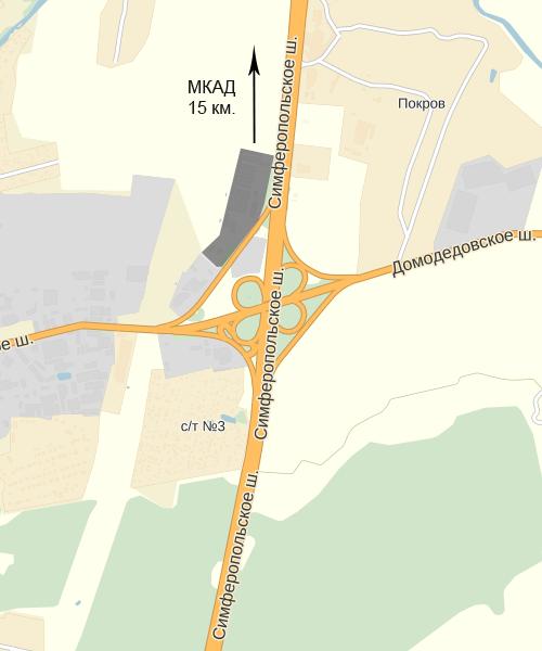 Строительный рынок Покров | Карта проезда